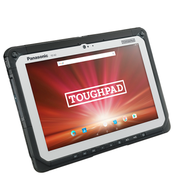 Panasonic Toughpad FZ-A2 Fully Rugged 10″ Android with GPS Android™ 6.0 - New | Pan-Toughbooks