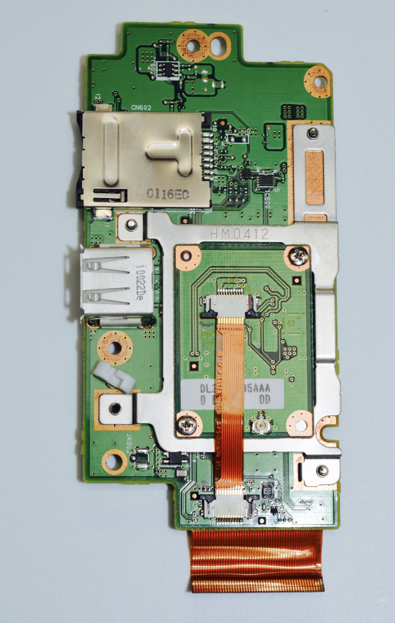 panasonic toughbook daughter board  bluetooth  card